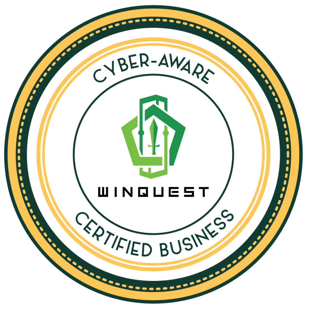 Cyber-Aware Certified Business Winquest